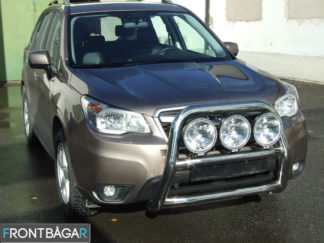 Grov 76mm dubbel frontbåge-extraljushållare-led-ljusbåge-extraljusbåge-extraljus-frontbågar-sverige-ab– Subaru Forester, 2008-2013 1