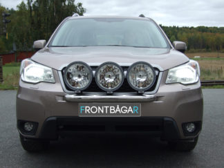 Minibåge Ljusbåge extraljushållare extraljusramp extraljusbåge Universal med 3st extraljus Subaru XV, 2012