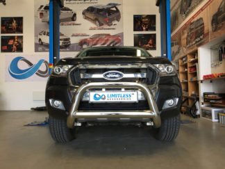 Ford-ranger-2015-standard-frontbåge-extraljushållare-led-ljusbåge-extraljusbåge-extraljus-frontbågar-sverige-ab