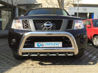 Nissan-navara-d40-EXCLUSIVE-frontbåge-extraljushållare-led-ljusbåge-extraljusbåge-extraljus-frontbågar-sverige-ab